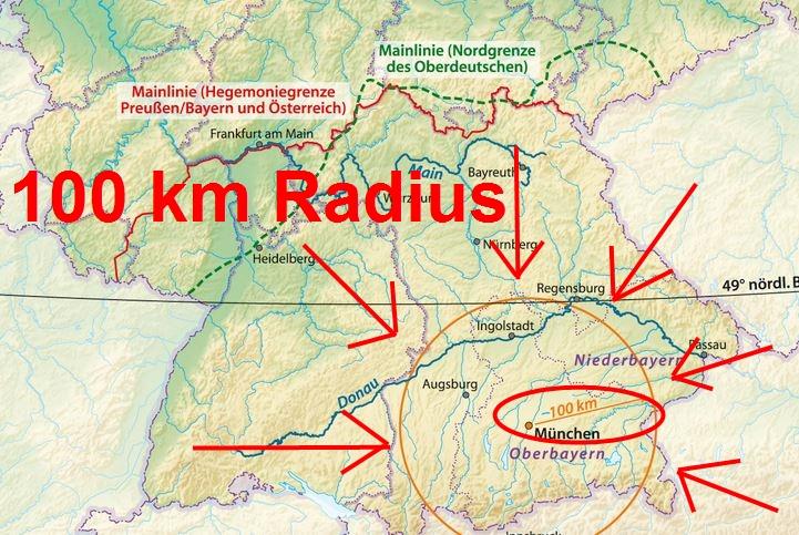 100 Km Radius Wei 223 Wurst Alles Was Du Wissen Musst