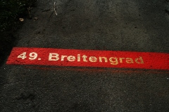 Der 49. Breitengrad durchquert Zwiesel