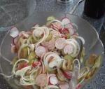 Weißwurst Radieserl Salat 1