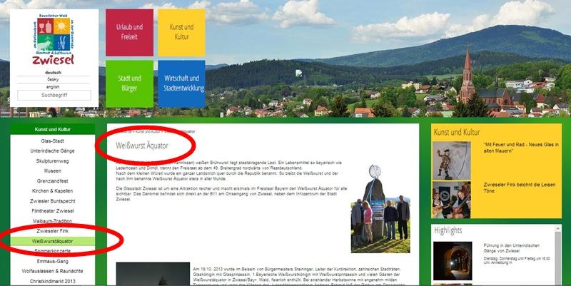 Website Zwiesel
