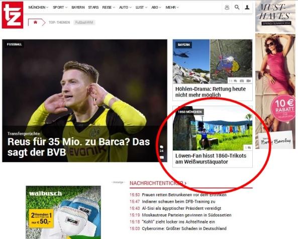 TZ München berichtet