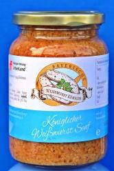 """Ein wahres Geschmackserlebnis wird den Genießer erwarten. Der erste """"Königliche Weißwurst Senf"""""""