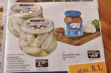"""Die Weißwurst gibt es jetzt auch als """"Mini"""". Ein genialer Marketingschachzug"""