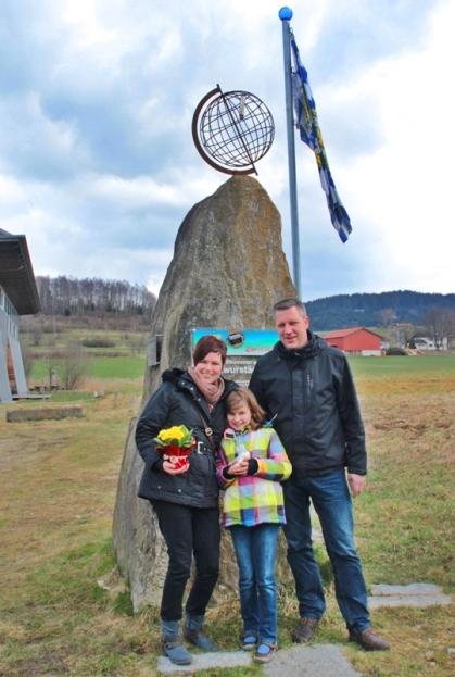 Das Siegerfoto. Fam. Jespers aus Bad Arolsen