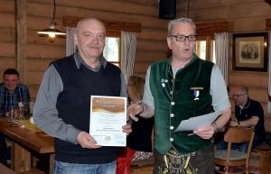 Bgm. Michal Snebergr, Zelezna Ruda mit Weißwurst Diplom