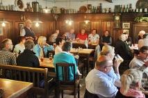Im Schalander der Brauerei Pfeffer in Zwiesel