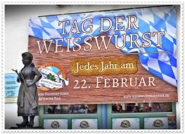 22.Februar - Tag der Weißwurst - Ausgerufen in Bodenmais
